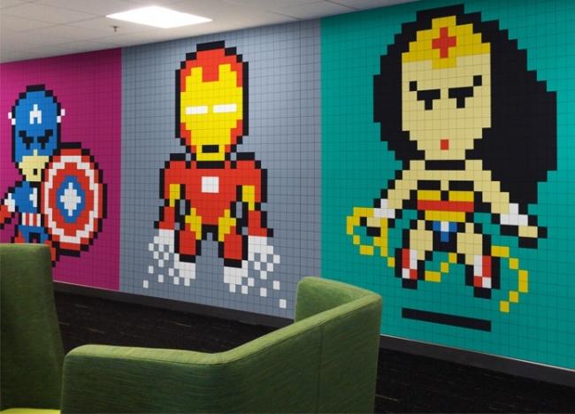 14крутых идей декора стен